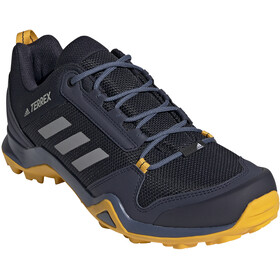 adidas TERREX AX3 Hiking Shoes Lightweight Men, legend ink/grey three/active gold